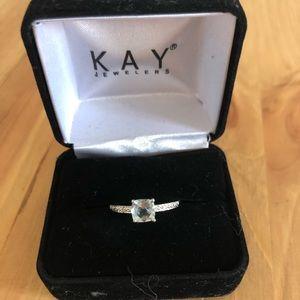 Aquamarine Kay Jewelers Ring